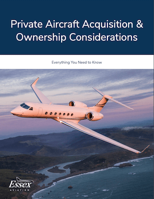 Essex_eBook_Private Aircraft Acquisition & Ownership Considerations